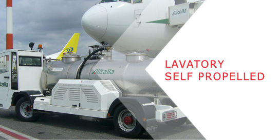 Lavatory self propelled